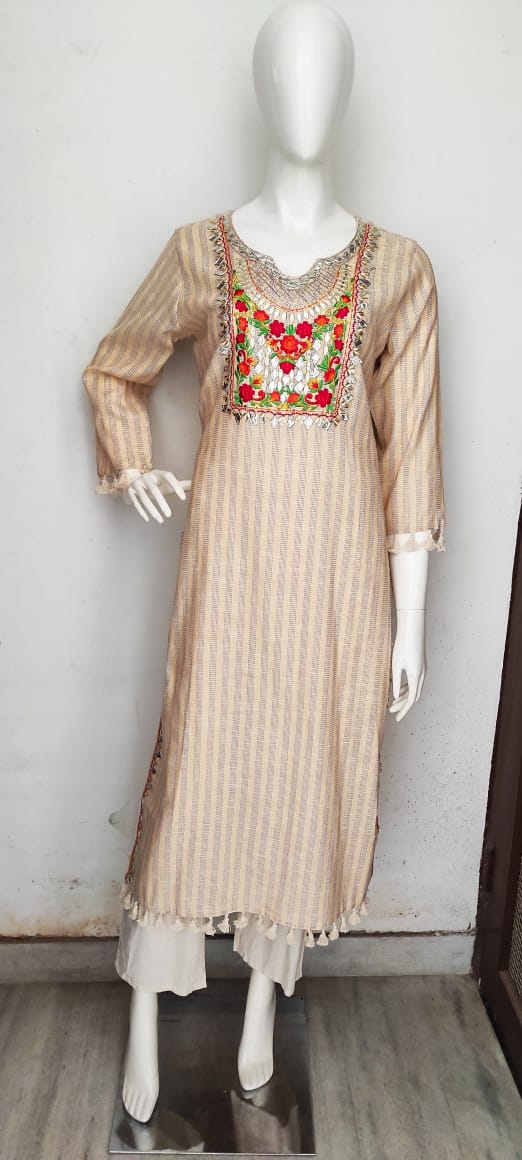 AT0012 Follower Straight Kurti with pant